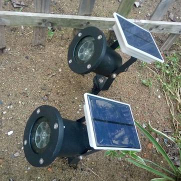 ソーラークリスマスプロジェクターライト